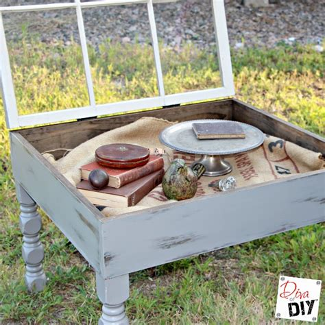 Amazing Coffee Table You Can Make With An Old Window Diy Window Coffee Table