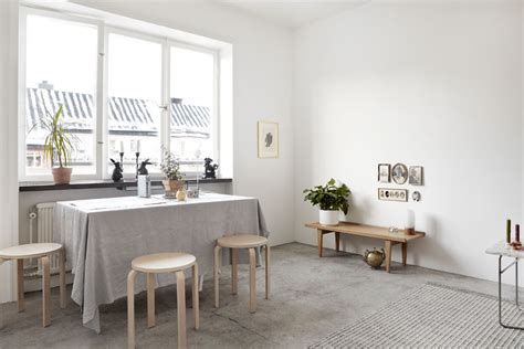 concrete floor apartment decordots scandinavian home