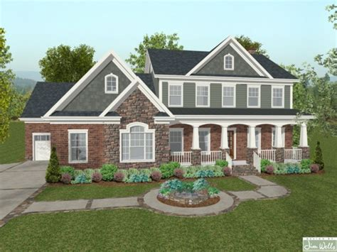 brick and siding houses houses with brick and stone siding blue brick house stone front house plans mexzhouse com