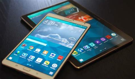 Samsung Tab 4 Update samsung galaxy tab s 8 4 lte receives lollipop update samsung rumors