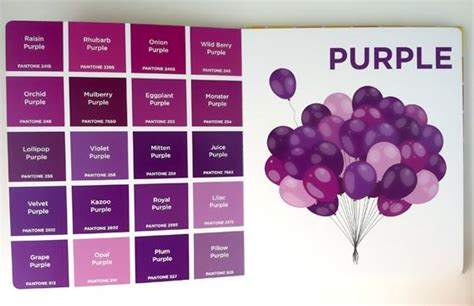 color purple book and comparison color shades purple home and gardening