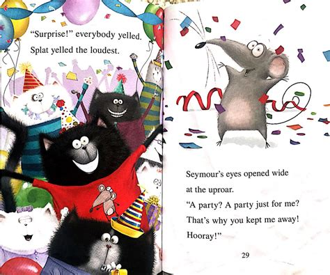 I Can Read Level 1 Splat The Cat Snow splat the cat splat and seymour best friends forevermore i can read level 1