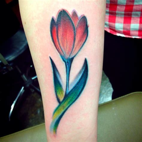tulips tattoo 40 tulip tattoos ideas collection