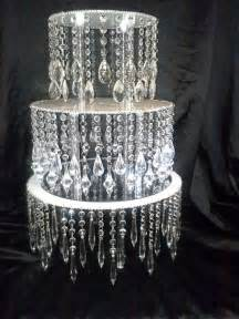 diy chandelier cake stand chandelier like stand unique cake stands and