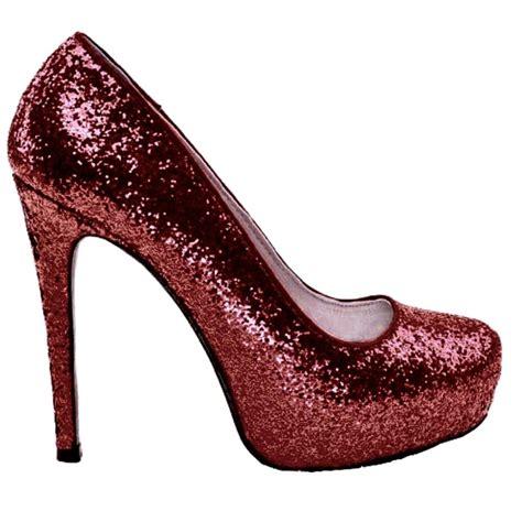 High Heels Glitter Maroon burgundy maroon glitter high low heels wedding shoes glitter shoe co