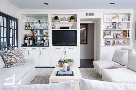 living room built tv cabinet transitional living room
