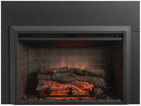 32 fireplace insert electric fireplace insert 36 in flush mount conversion