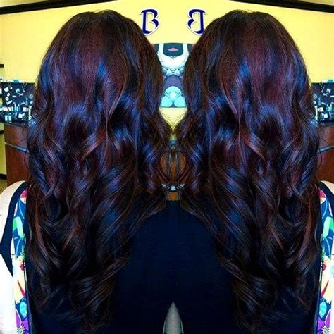 cute burgundy highlights 20 cute fall hair colors and highlights ideas burgundy
