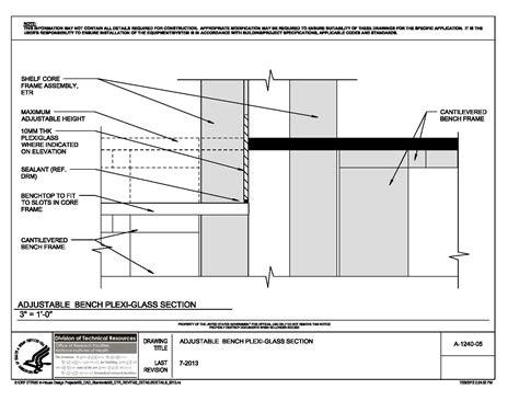 Peninsula Kitchen Floor Plan nih standard cad details