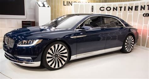 new continental car 2017 lincoln continental concept and specs 2016 2017