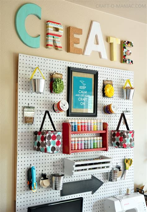 crafts for room 10 craft room pegboard organization ideas