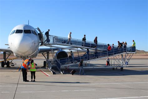allegiant air s inaugural mesa flight brings ultra low cost airfare to st george