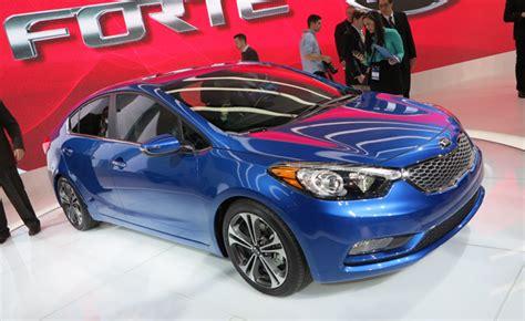 Is The Kia Forte A Car 2014 Kia Forte Gets A Swoopy New Look 2012 La Auto Show