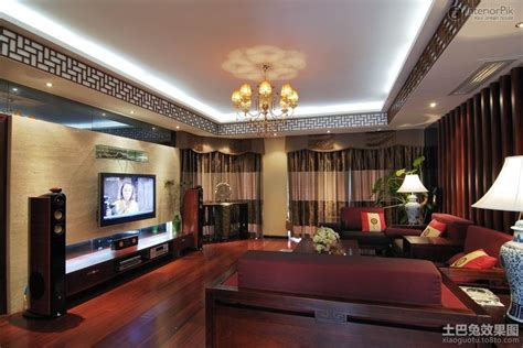 Chinese Style Living Room With False Ceiling Design Modern Design Of False Ceiling In Living Room