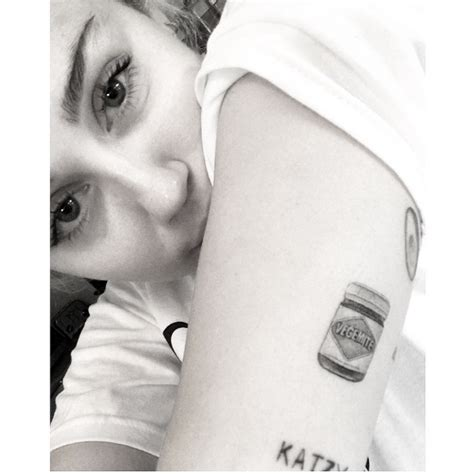 celebrity tattoos miley cyrus ed meanings design inspiration and