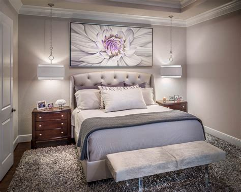transitional bedroom design