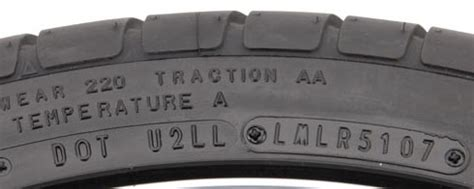 Age Of Car Tires Code Tire Tech Information Determining The Age Of A Tire