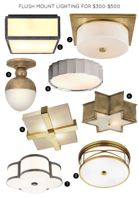 Restoration Hardware Flush Mount Ceiling Light The 30 Best Flush Mount Lighting Fixtures It Lovely Bloglovin