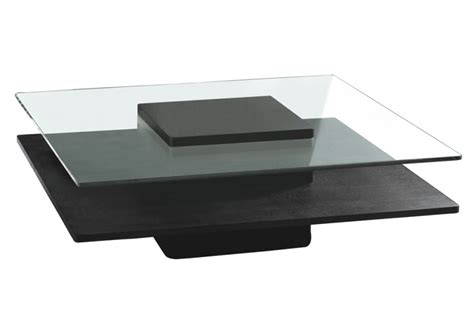 Table basse brenton verre & wenge   Table basse   Topkoo