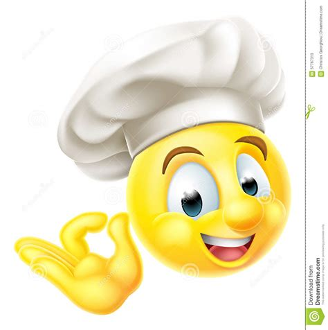 20 20 Kitchen Design Free Download by Chef Cook Emoji Emoticon Stock Vector Image Of Perfect