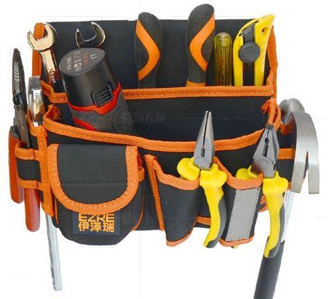 Hnm Waistbag Waist Bag Belt Bag Tas Pinggang 2016 heavy duty canvas leather belt rolling roll up folding garden electrician waist tool