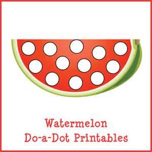 watermelon do a dot printables gift of curiosity