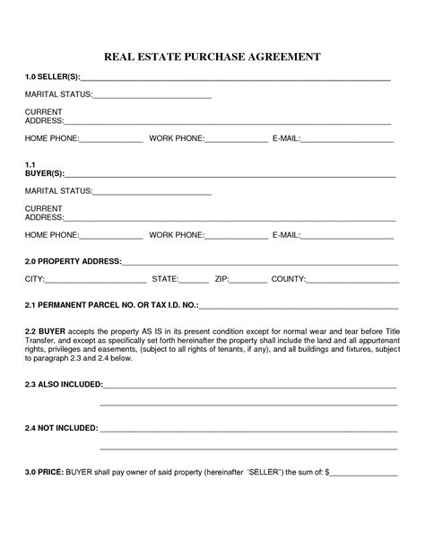 Agreement Letter Buying House Best Photos Of Home Purchase Agreement Home Purchase Agreement Form Template Mobile Home
