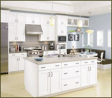 best color for kitchen walls with white cabinets home