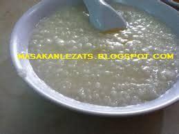 resep  membuat bubur nasi putih polos resep masakan