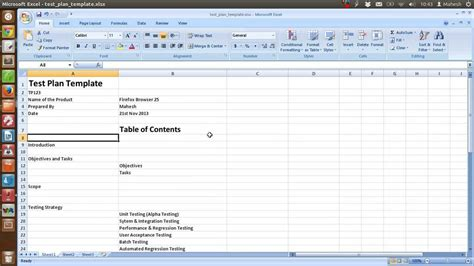 Excel Spreadsheet Test Plan Template Onlyagame Test Plan Template Excel Sheet