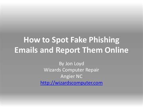 How To Report Spam Email To by How To Spot Phishing Emails And Report Them