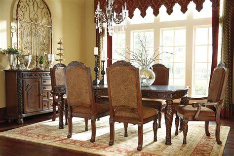 north shore rectangular extendable dining room set  ashley   coleman furniture