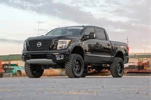How To Lift A Nissan Titan 6in Suspension Lift Kit For 2017 4wd Nissan Titan
