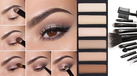 10 Steps For Makeup Look by Eyeshadow Tutorial Step By Step Neutral Eyeshadow