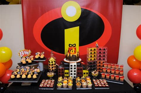 The Incredibles Decorations the incredibles birthday ideas birthdays boys and boy birthday