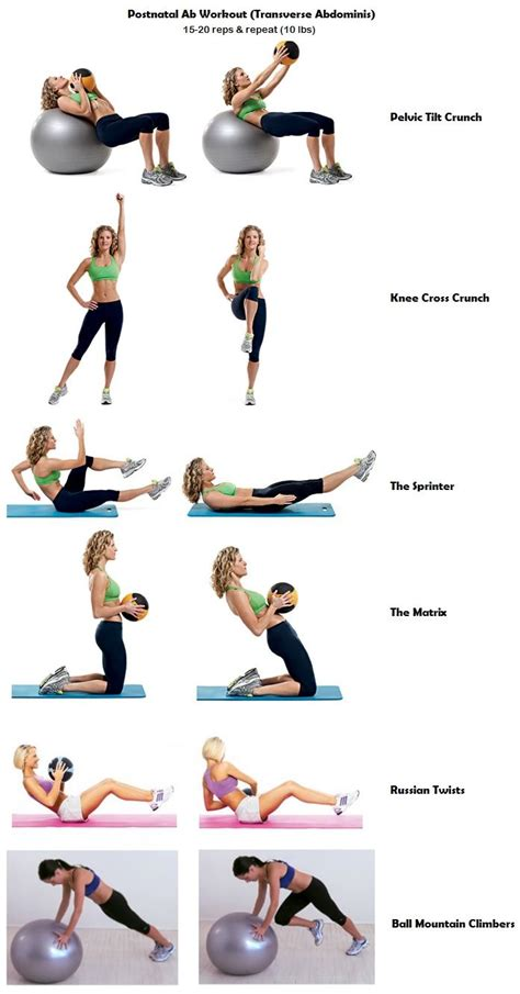Transverse Abdominal Exercises After C Section by Postnatal Workouts Eoua