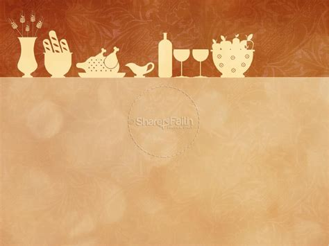 Happy Thanksgiving Event Powerpoint Template Fall Thanksgiving Powerpoint Templates
