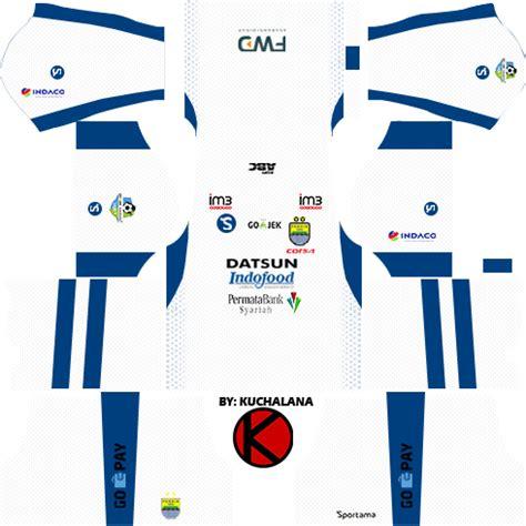 desain jersey persib kits dream league soccer persib bandung 2017 18 kits