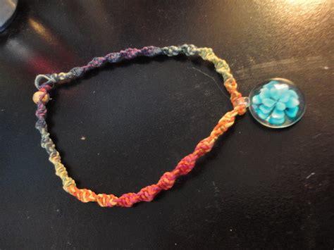 hemp necklace  bead  hemp necklace beadwork jewelry making  weaving  cut