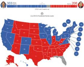 current us election map vs blue maps telling the story of election 2012