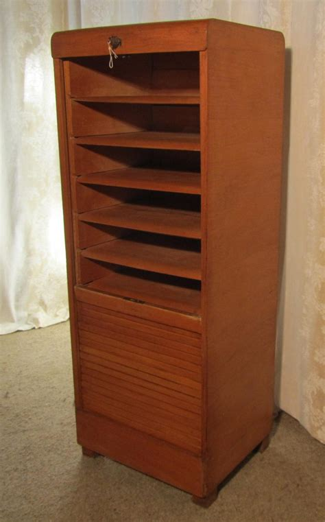 antique map file cabinet an oak art deco tambour fronted filing cabinet antiques