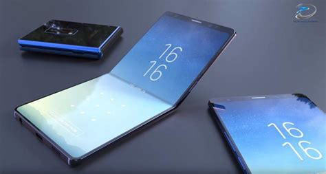 samsung foldable phone new android folding phone could beat samsung