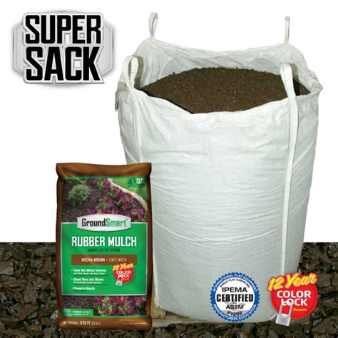 discount rubber sts free shipping brown groundsmart rubber mulch bulk discounts free