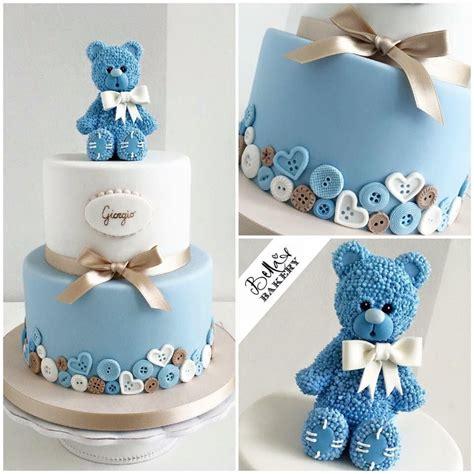 Cupcakes De Bautismo En Pinterets Decoraci 243 N De Cupcakes Para Bautizo by Le Torte Di Stellina Cakes Teddy Bears Bunnies In 2018 Tortas Pastel Ni 241 A