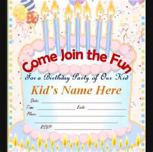 Bday Invitation Template by Sle Birthday Invitation Template 40 Documents In Pdf
