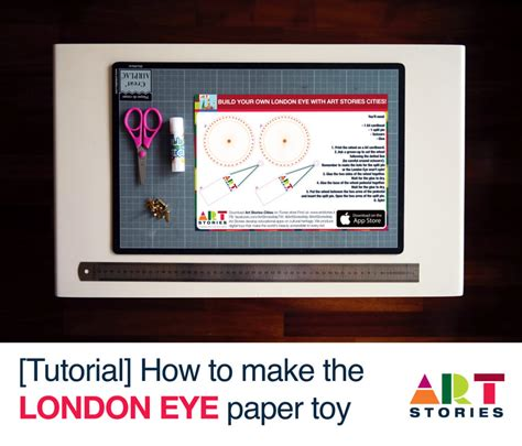 How To Make A Paper Eye - how to build the eye paper tutorial stories