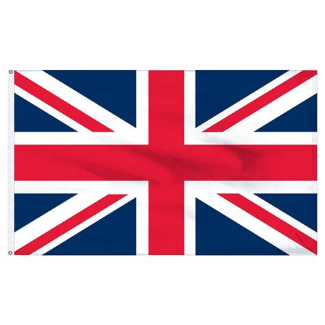 united kingdom 3 x 5 indoor nylon flag