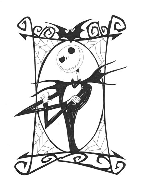 coloring pages the nightmare before christmas free printable nightmare before christmas coloring pages
