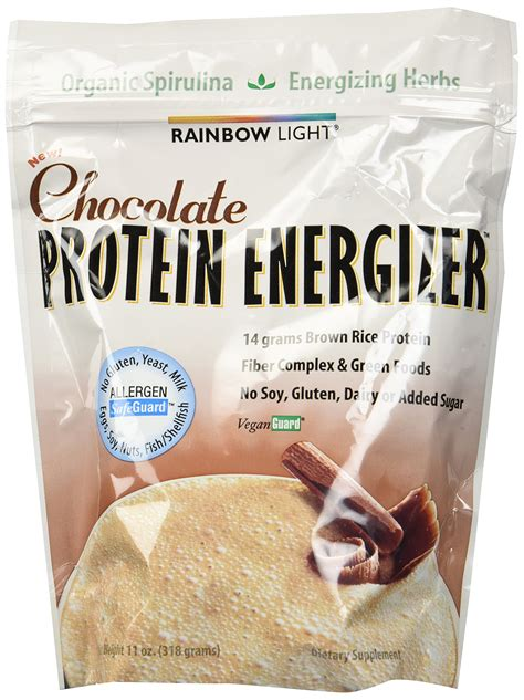 rainbow light protein energizer vanilla 10 7 oz amazon com rainbow light protein energizer food based