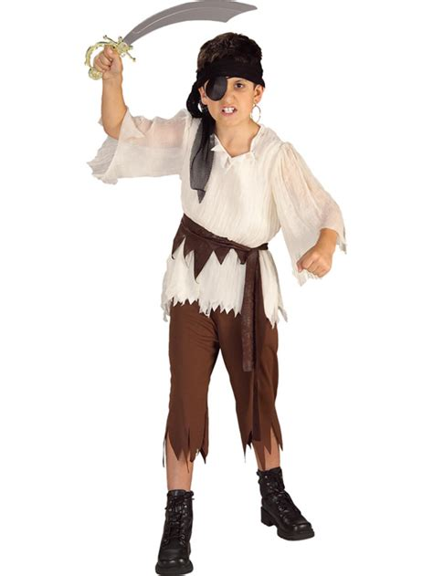 boys pirate ship mate deck caribbean childs child pirate boy caribbean fancy dress costume book